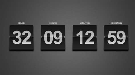 Wall Clock Digital by Create A Sleek Countdown Timer Photoshop Tutorial Youtube