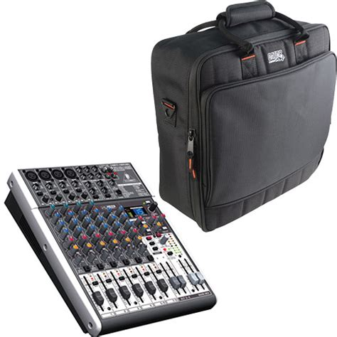 Mixer Behringer 12 Channel Bekas behringer xenyx x1204usb 12 channel usb mixer with padded bag