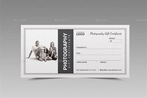 Shoot Card Template by Photography Gift Certificate Template Tryprodermagenix Org