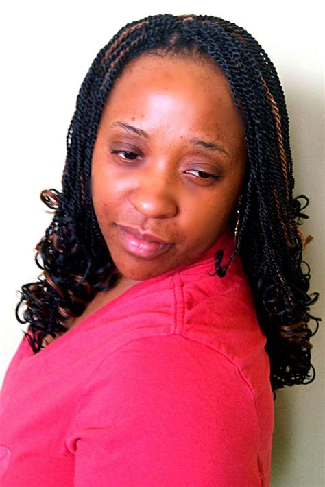 pre twist kinky twist senegalese crochet braids with pre twisted hair from the biba lock n