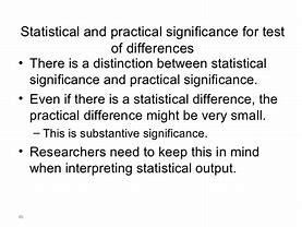 Image result for what is the difference between significance and thesis