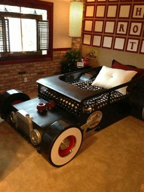 adult car bed hot rod bed cars pinterest