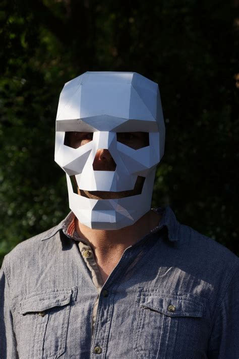 How To Make A Skull Mask Out Of Paper - i m dead make your own skull mask out of cardboard