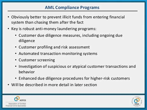 anti money laundering compliance program template commonalities money laundering ethics international