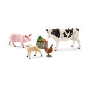 schleich teppich schleich world of nature farm farm animals animal