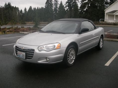 2004 Chrysler Sebring Convertible by Photos Of Chrysler Sebring Limited Photo Galleries On