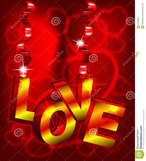 imagenes en 3d lindas texto do amor 3d foto de stock imagem 17866560