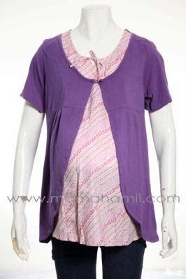 jual baju menyusui batik rompi sd 247 e code sd 247 ungu