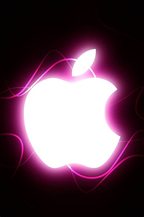 iphone 5 wallpapers apple with baby pink background iphone 4 apple wallpaper pink by thekingofthevikings on