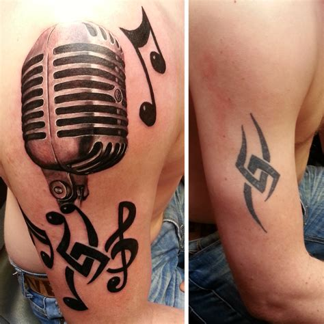 tribal microphone tattoo tribal cover up microphone by adalbert on deviantart
