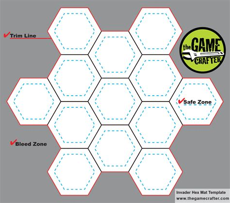 hex hex card template resources