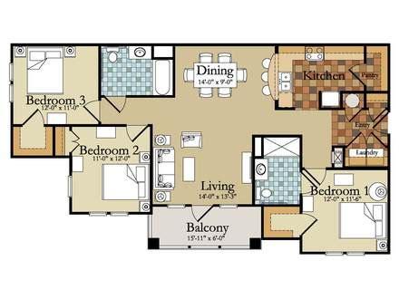 bedroom floor plan ideas 3 bedroom house designs and floor plan ideas design a house interior exterior