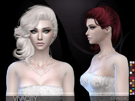 stealthic vapor female hair the sims resource stealthic vivacity female hair