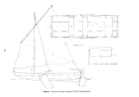 scow schooner plans boat plans scow info sailing build plan