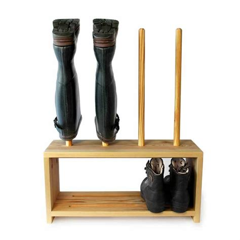 welly boot and shoe rack 2 pair