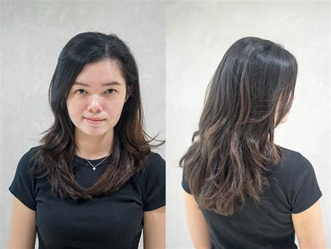 rebond hairstyles pictures haircut vs rebonding curly hair agent j tries both at
