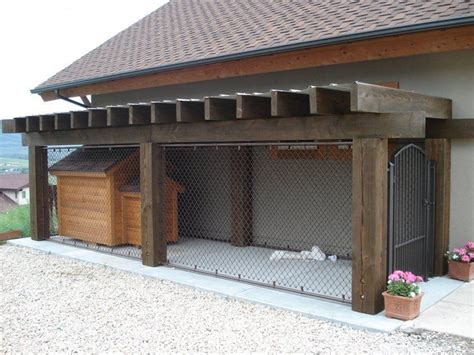 dog kennel in garage best 25 outdoor dog kennels ideas on pinterest outdoor