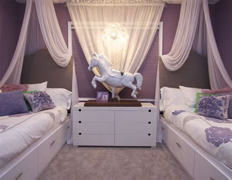 bedroom ideas for 2 teenage girls vibrant transitional girls bedroom 2 before and after