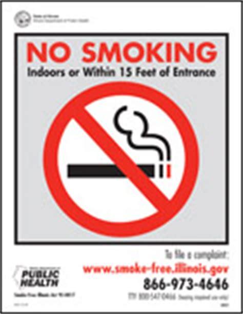 no smoking sign illinois smoke free illinois help to quit smoking