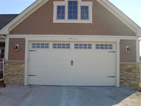 craftsman garage door carriage house style garage doors craftsman garage and