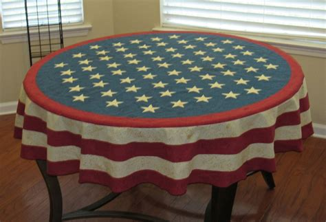 4th of july tablecloth patriotic flag table cloth fabric 4th of july 52 x 70