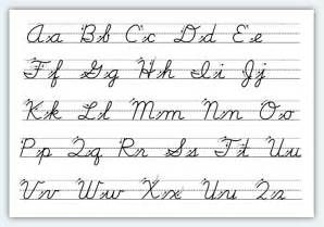 worksheets for cursive writing abitlikethis