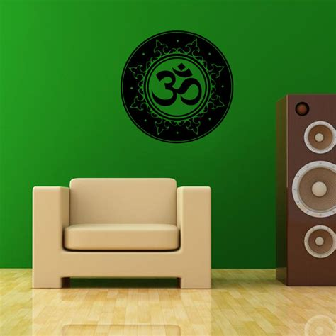 Wall Paper Sticker 117 indian buddhism wall decal sticker mandala wall mural poster india wall paper poster