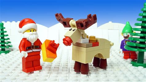 lego christmas robbery santa claus gift youtube