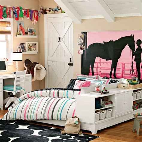 Equestrian Bedroom Decor by Equestrian Wall Mural Pbteen