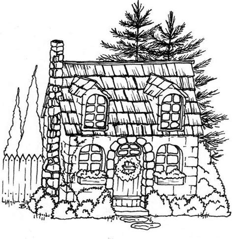 cottage house coloring pages beccy s place stone cottage http beccysplace blogspot