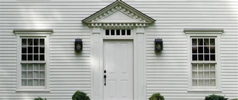 window styles for colonial homes windows doors colonial exterior trim and siding