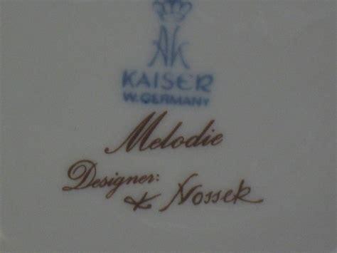 germany porzellan porzellan vase ak kaiser w germany melodie designer k nos