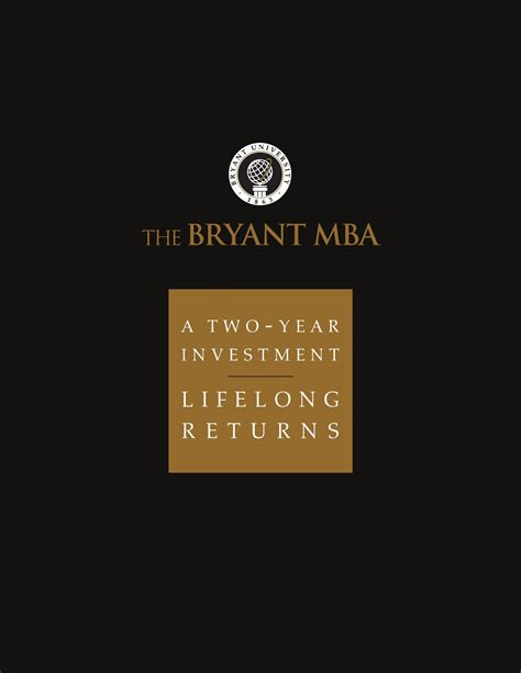 I An Mba Can I Become A by Bryant The Bryant Mba By Bryant Issuu