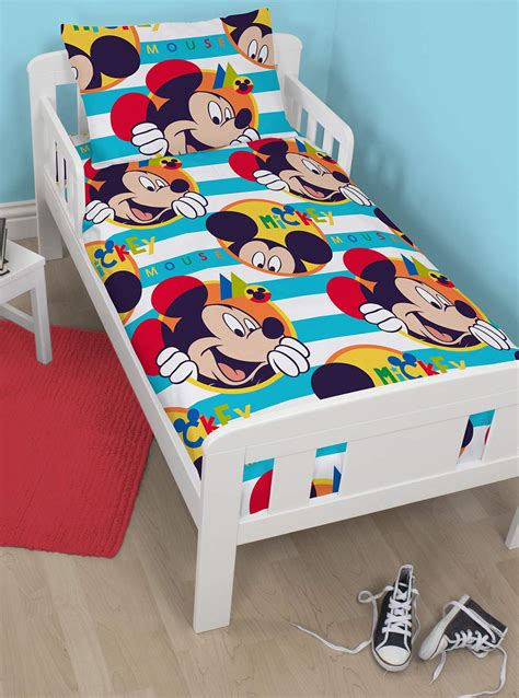Bedcover Set Motif Mickey Mouse 160x200 Bed Cover Set Sprei Grow sale disney mickey mouse boo junior toddler duvet quilt