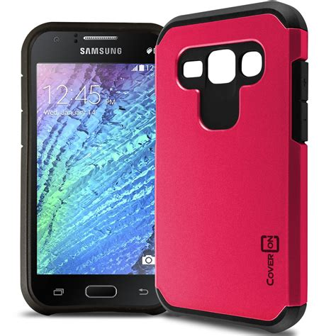 Samsung J1 2015 Slim Armour hybrid slim armor phone cover for samsung galaxy j1 verizon j100 ebay