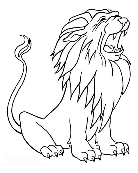 lion coloring pages lion coloring pages printable kids