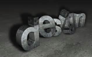 3d designs stone 3d design by hebbylaya on deviantart