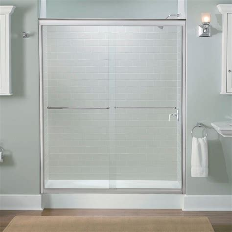 What Is A Bypass Shower Door Home Depot Coupons For Kohler Fluence 59 5 8 In X 70 5 16 In Semi Frameless Sliding Shower