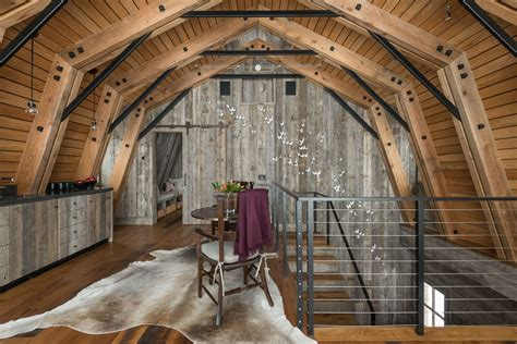 The Barn the barn is the exle of modern rustic design
