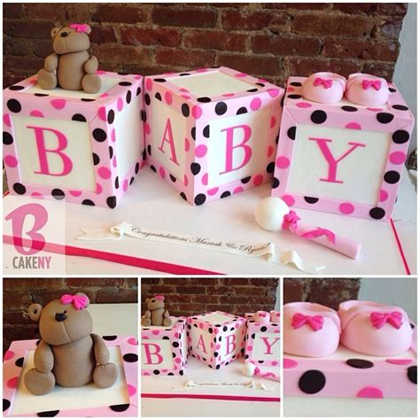 Baby Shower Cakes With Blocks by 10 More Baby Shower Cakes Aa Gifts Baskets Idea