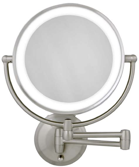 zadro lighted makeup mirror zadro 1x 10x next gen cordless led lighted wall mount
