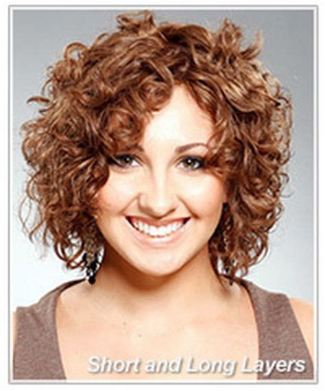 haircuts for curly hair layers short curly layered hairstyles