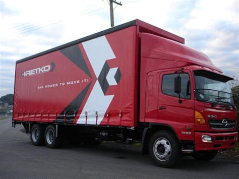 curtain side truck curtain side truck bodies manukau truck bodies