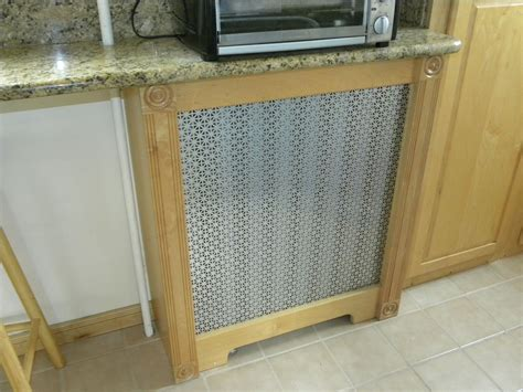 Handmade Radiator Covers - made custom radiator covers by newsham s woodshop