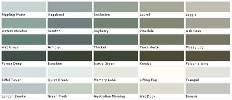 valspar color chart american tradition signature colors from lowes html