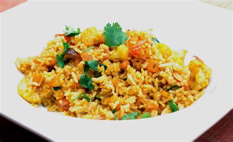 recette de cuisine indienne recette indienne vid 233 o fried rice riz frit de