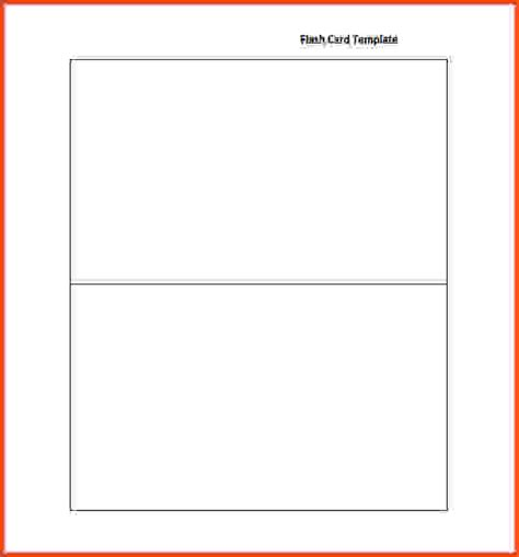 flash card template free printable blank flash card