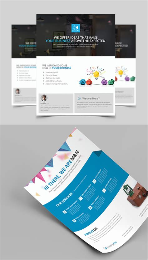 graphic design flyer templates free 25 professional corporate flyer templates design graphic design junction