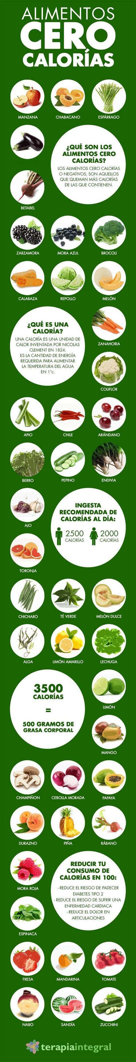 alimentos 0 calorias 42 alimentos cero calor 237 as health pura vida and hair