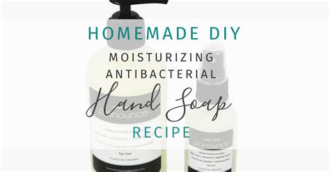 diy pronunciation diy antibacterial soap pronounce skincare herbal boutique